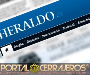 Noticias cerrajeros Heraldo.es