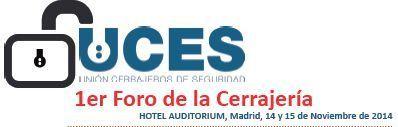 Uces Primer foro cerrajeria 2014