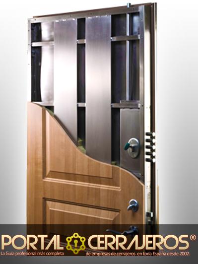 Diferencias entre puerta blindada y puerta acorazada - Puertas de madera decoradas ...