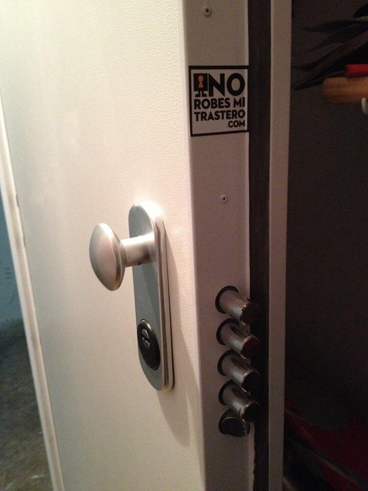 Seguridad para trasteros for Puerta trastero seguridad